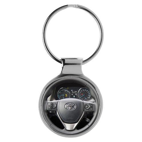 Geschenk für Toyota RAV4 Fans Cockpit Schlüsselanhänger 20490