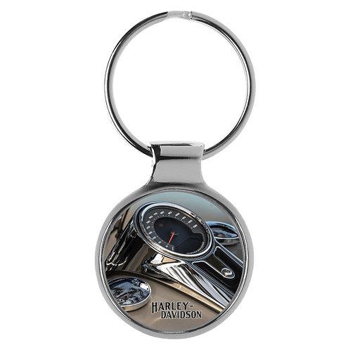 Geschenk für Harley Davidson Fans Cockpit Schlüsselanhänger 20821