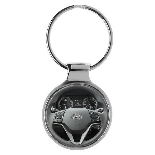 Geschenk für Hyundai Tucson Fans Cockpit Schlüsselanhänger 10108