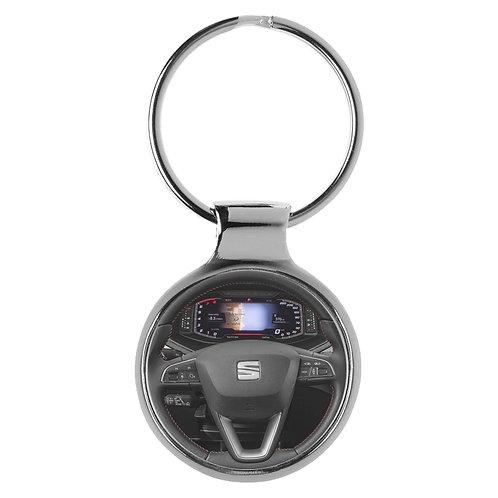 Geschenk für Seat Arona Fans Cockpit Schlüsselanhänger 20928