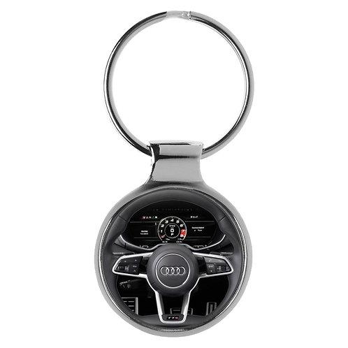 Geschenk für Audi TT Fans Cockpit Schlüsselanhänger 10109