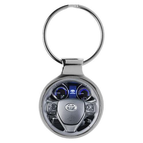 Geschenk für Toyota Audis Fans Cockpit Schlüsselanhänger 20645