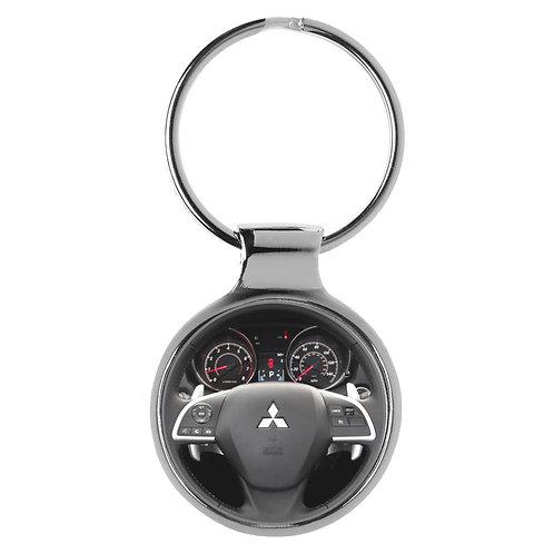 Geschenk für Mitsubishi Outlander Fans Cockpit Schlüsselanhänger 10083