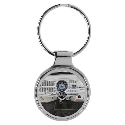 Geschenk für VW Käfer Fans Cockpit Schlüsselanhänger 10024