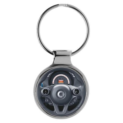 Geschenk für smart EQ forfour Fans Cockpit Schlüsselanhänger 20942