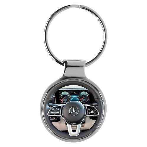 Geschenk für Mercedes A-Klasse Fans Cockpit Schlüsselanhänger 20854