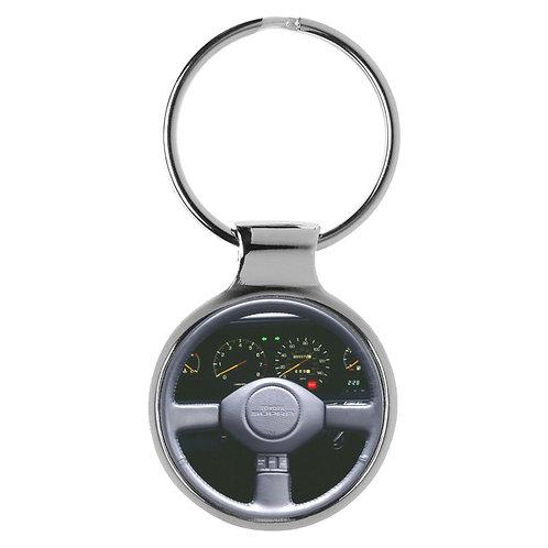 Geschenk für Toyota Supra Fans Cockpit Schlüsselanhänger 10084