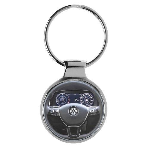 Geschenk für VW Golf 7 Fans Cockpit Schlüsselanhänger 10035
