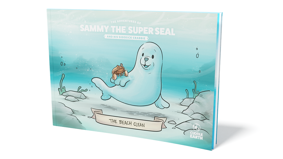The Adventures of Sammy the Super Seal - Paperback book