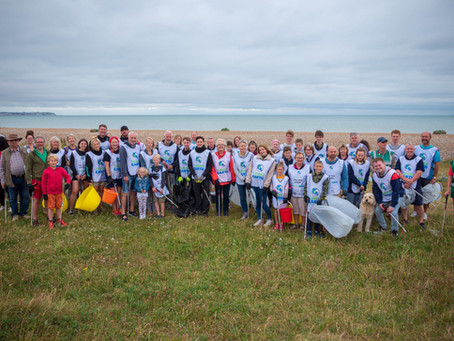 #2 Sandwich Bay Beach Clean!