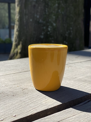 Pottery Cup M Mostaza