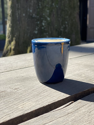 Pottery Cup M Azul