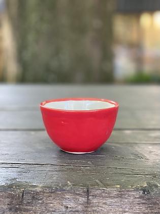 Pottery Bowl S Rojo