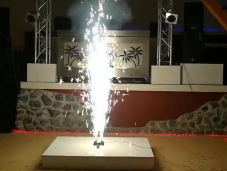 Bühnen Pyrotechnik