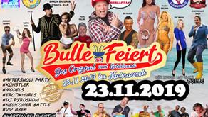 Bulle Feiert das ERSTE mal in Deutschland