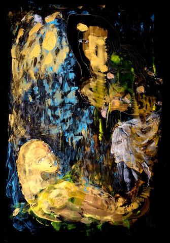 Painting by Yelena Lezhen.