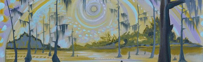 Romanticized Landscape Art by Sarah Megan