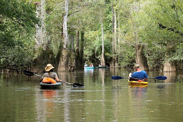 Pearl River Kayaking