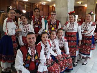 Участие на Национален фестивал за народни хора
