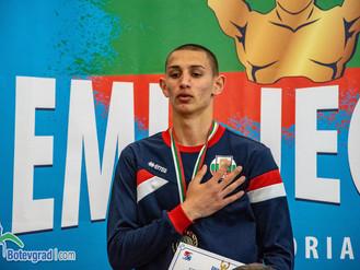"Златни медали за ученик на ПГТМ ""Христо Ботев"""