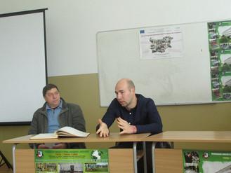 """Среща на учениците от ПГТМ """"Христо Ботев"""" с Радослав Райков – бивш възпитаник на училището"""