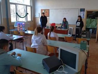 """Училищен кръг на национално състезание по приложна електроника """"Мога и зная как"""""""