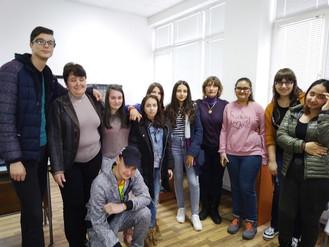 Представяне на екипа и дейността на група по интереси работеща по                                  п