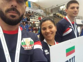Наша възпитаничка на европейско състезание в Италия