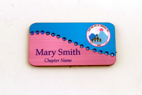 Bling Name Badge