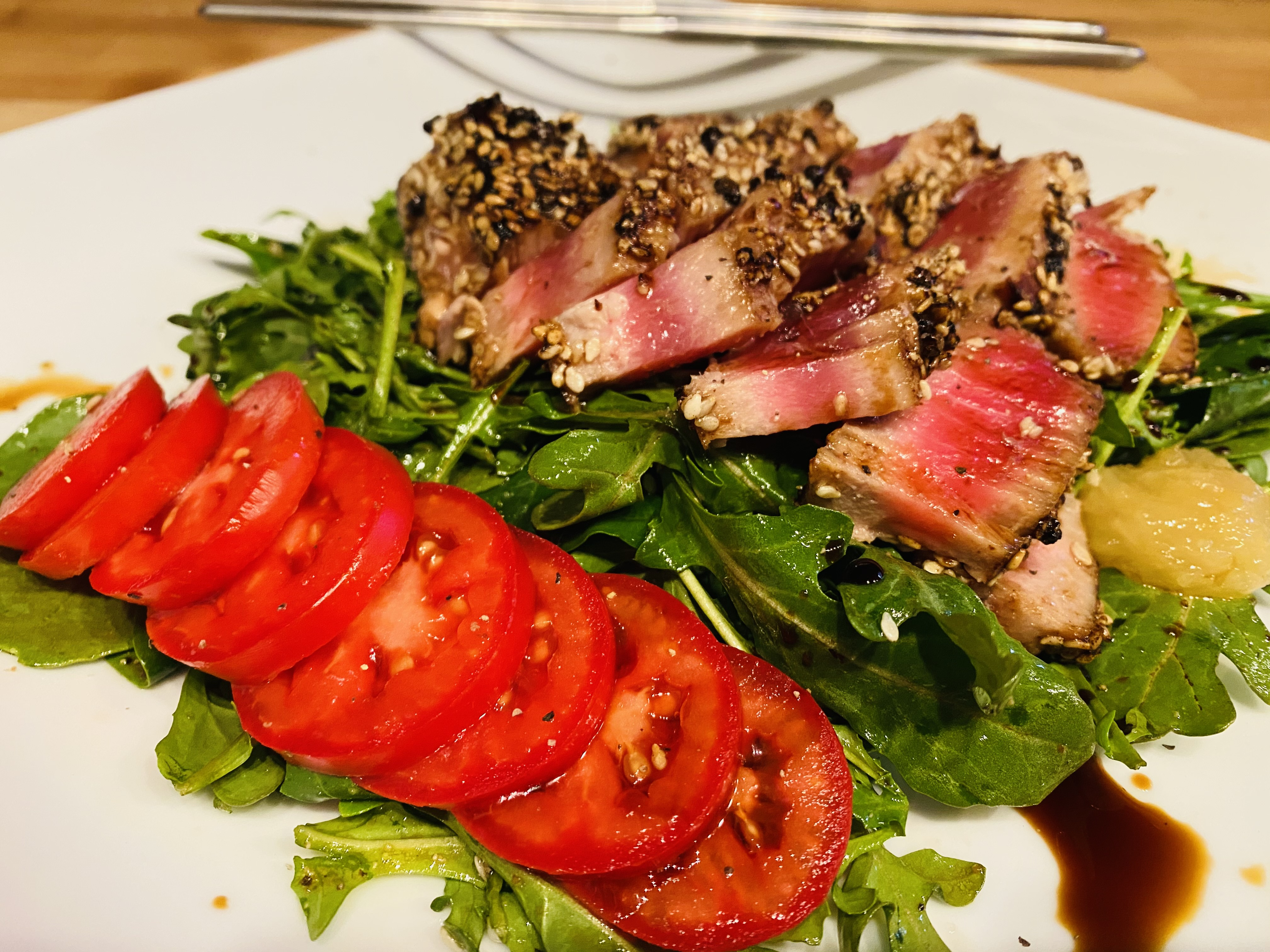 Special Seared Ahi Lunch