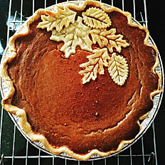 Traditional Pumpkin Pie starts at