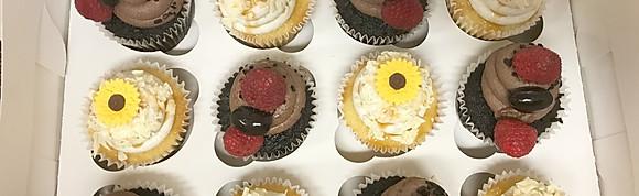 Tarts, cupcakes and scones