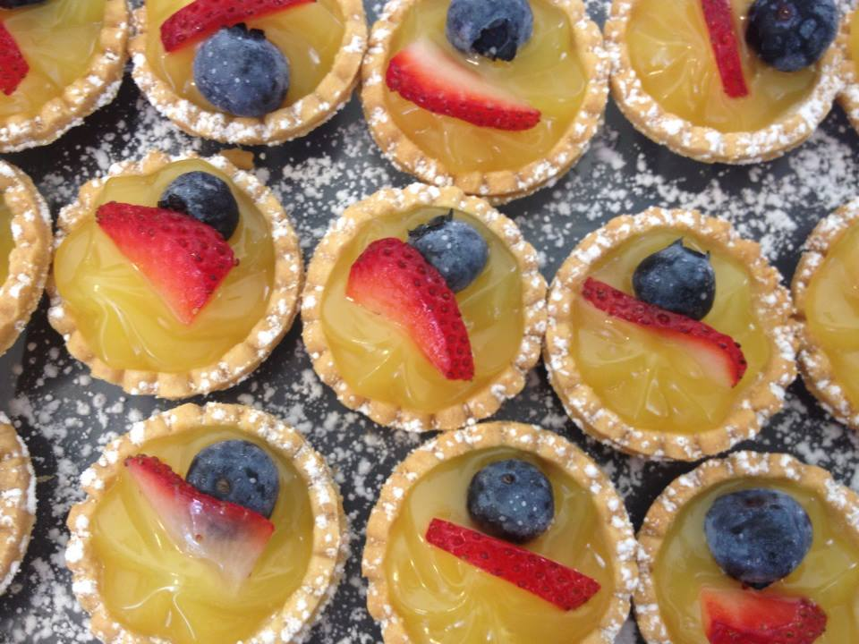 Meyer Lemon Tarts
