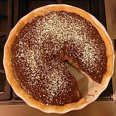 """Chocolate Pie - 9"""""""