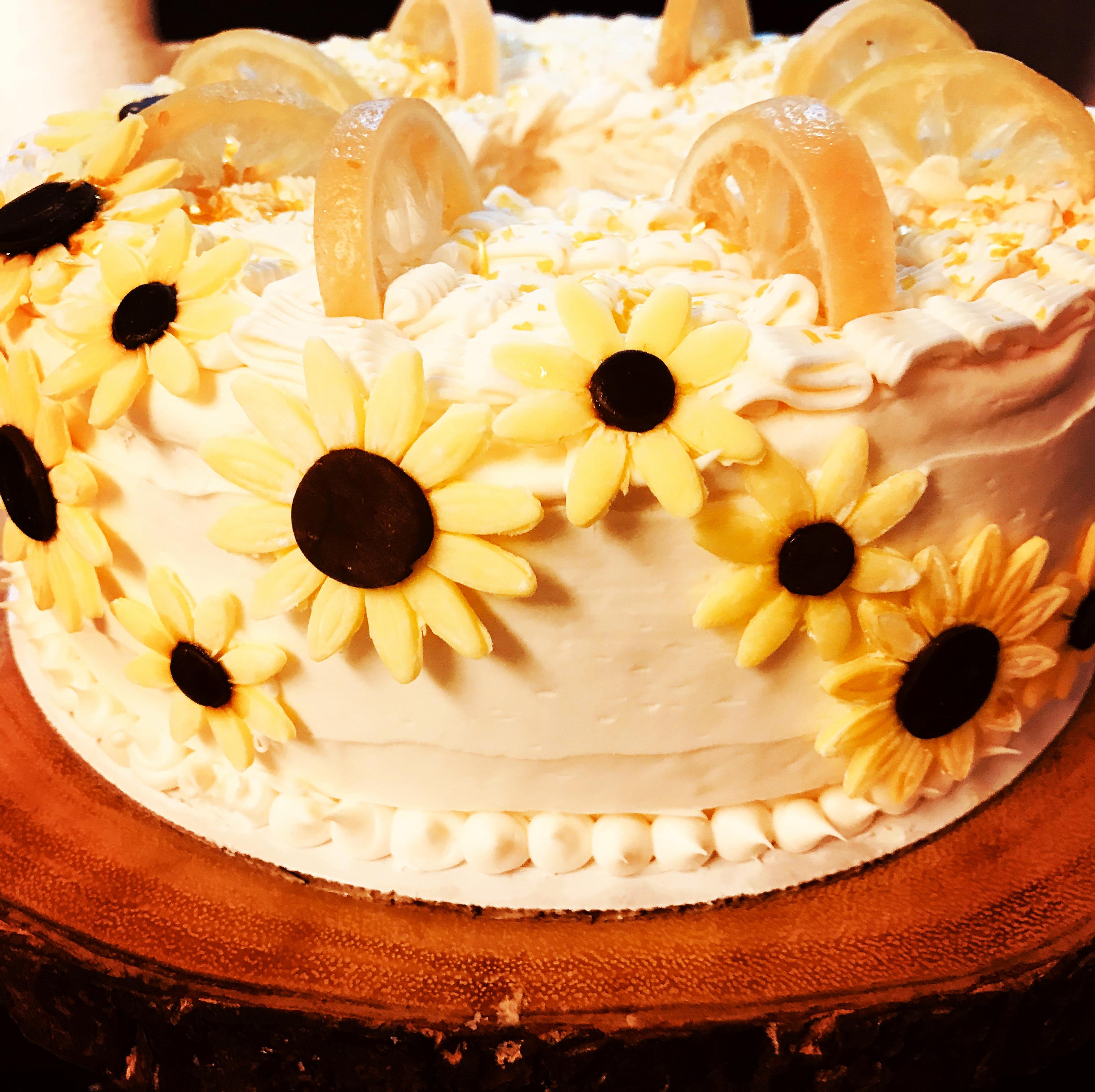 Lemon Birdayday Cake