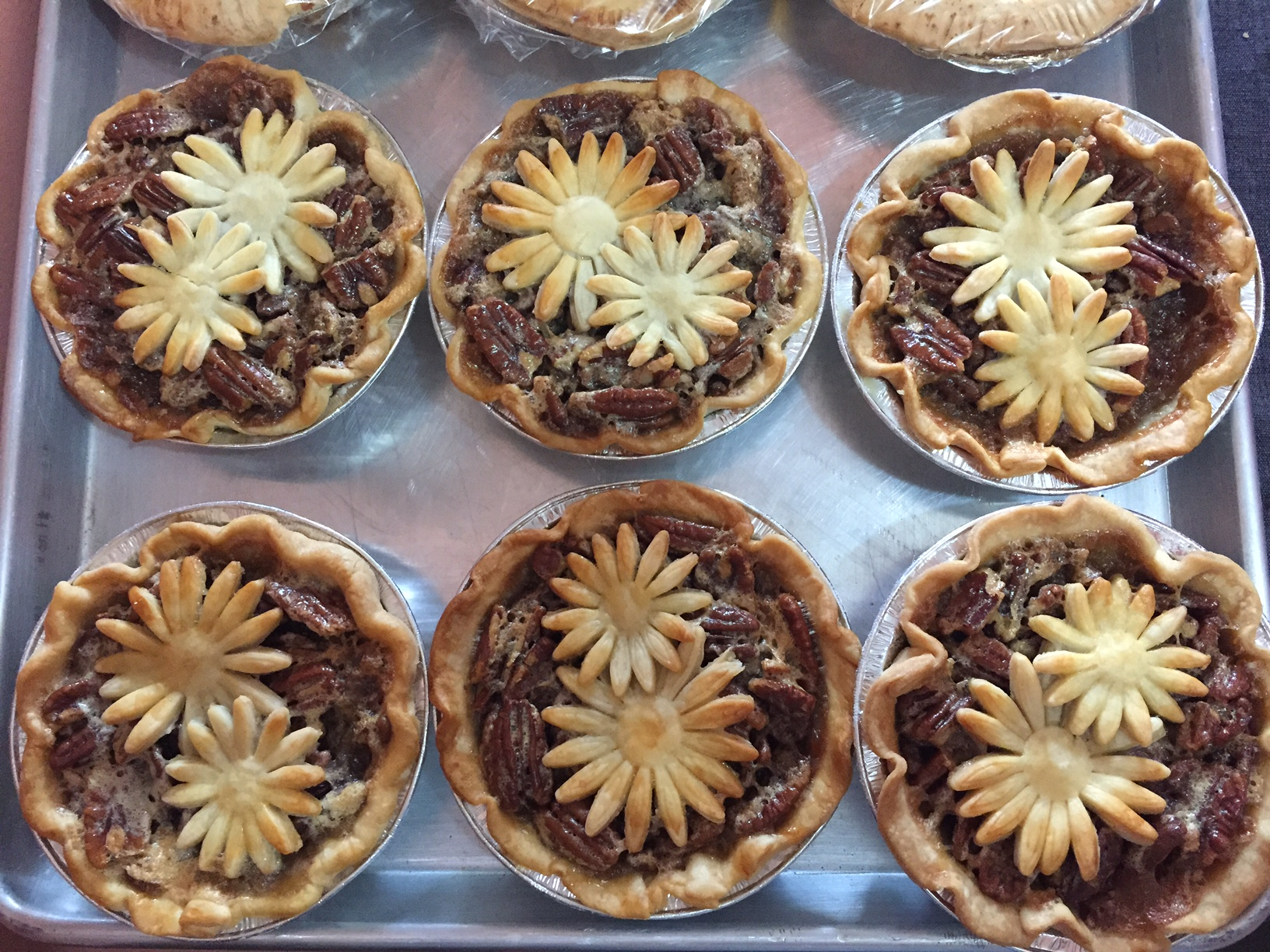 Maple Pecan Pies