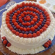 "Fourth Of July Cake - 6"", 8"", 10"", 12"" price starts at"