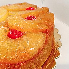 "Pineapple Upside Down Cake- 6"", 8"" 10"" price starts at"