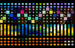 Serie Pixeles Title: Sunset.