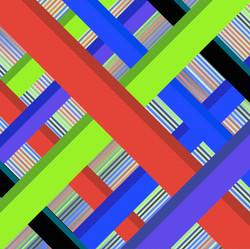 Green Diagonal 4