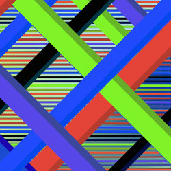Green Diagonal 2