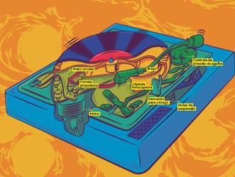 Como funciona um disco de vinil