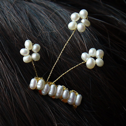 freshwater pearl flower comb