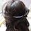 Thumbnail: lilac freshwater pearl and crystal hair comb