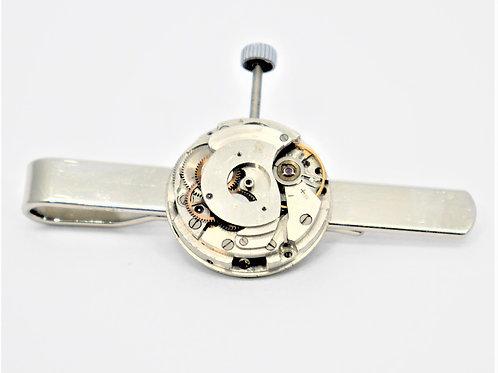 round watch mechanism tie slide with winder