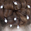 Thumbnail: 12 large freshwater rice pearl hair pins in gold