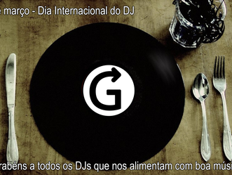 Dia 9 de março, dia internacional do DJ