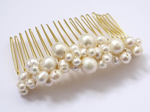 pearl cluster comb