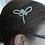 Thumbnail: freshwater pearl dragonfly hair comb