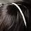 Thumbnail: tiny nugget pearl bridal alice band/ headband